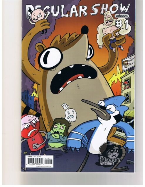Regular Show #1 Phantom Variant! Boom Studios! Free Shipping!! NM!!