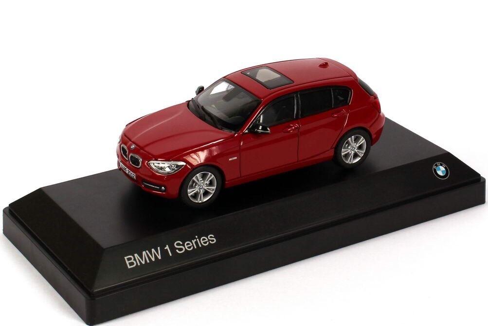 RARE BMW 1 SERIES 2011 F20 125i SPORT rot 1 43 PARAGON (DEALER MODEL)