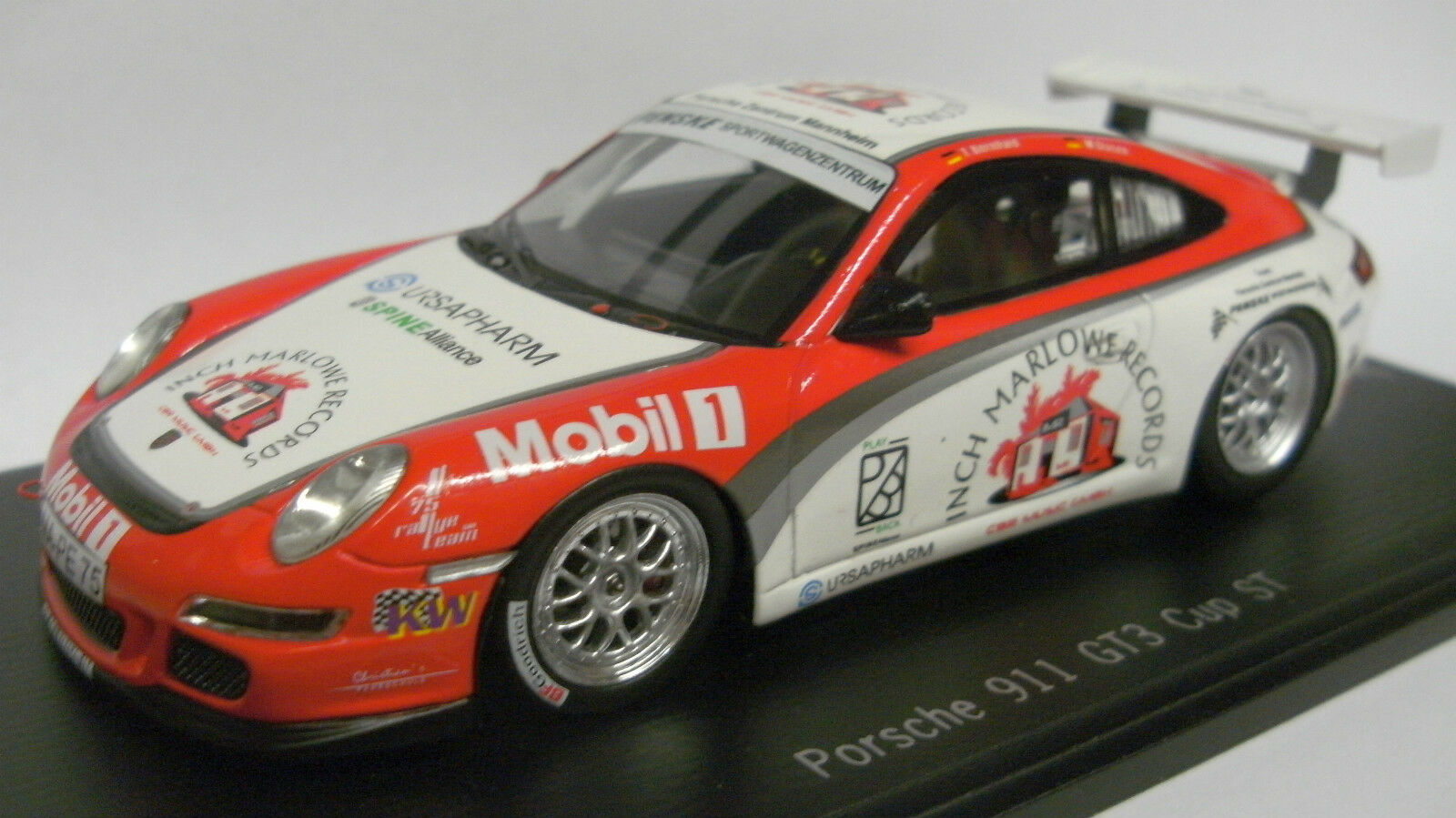 SPARK 2013 PORSCHE 911 gt3 Cup ST DRM 2011 CENTRO PORSCHE modello speciale 1:43 NUOVO