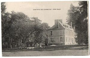 CPA-14-Chateau-de-GARNETOT-Calvados-Cote-Ouest