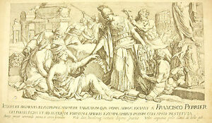 The-Barbarians-Destroy-The-Landmarks-of-Rome-Francois-Perrier-1645-Minerve
