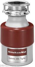 NEW KitchenAid 1/2HP Continuous Feed Food Waste Disposer Disposal KCDB250G