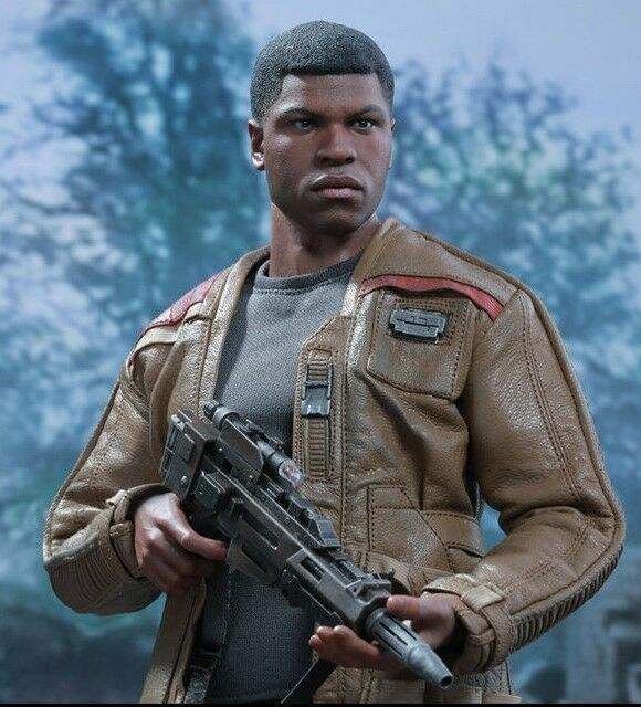 Hot Juguetes Star Wars Force despierta Finn John Boyega 12 Figura Sellada 1:6 Escala