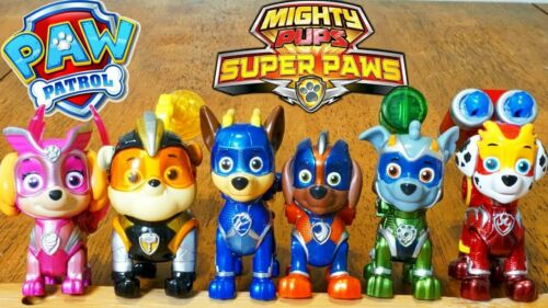 PAW Patrol Mighty Pups Super Paws Skye Action Figures NEW