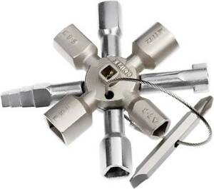 KNIPEX-TwinKey-Schaltschrankschluessel-Schaltschrank-Schluessel-00-11-01-NEU-OVP