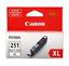 Canon-CLI-251XL-GY-6452B001-Original-Gray-Ink-Cartridge-NO-BOX thumbnail 1