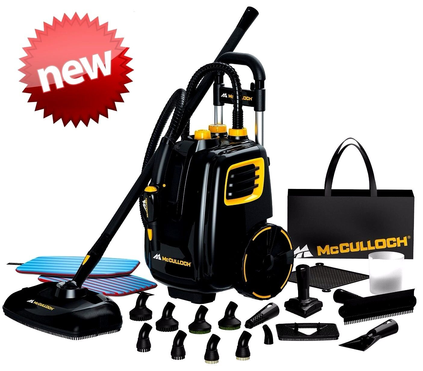 Commercial Steam Cleaner Portable Floor Carpet Cleaning