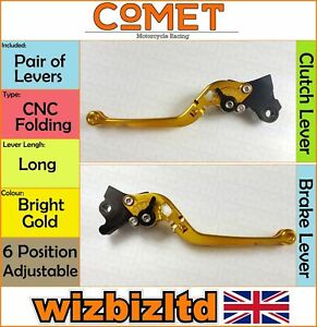 Comet-Levers-Aprilia-RS-125-125cc-RM-2006-2014-CNC-Long-Bright-Gold-LV81LGD