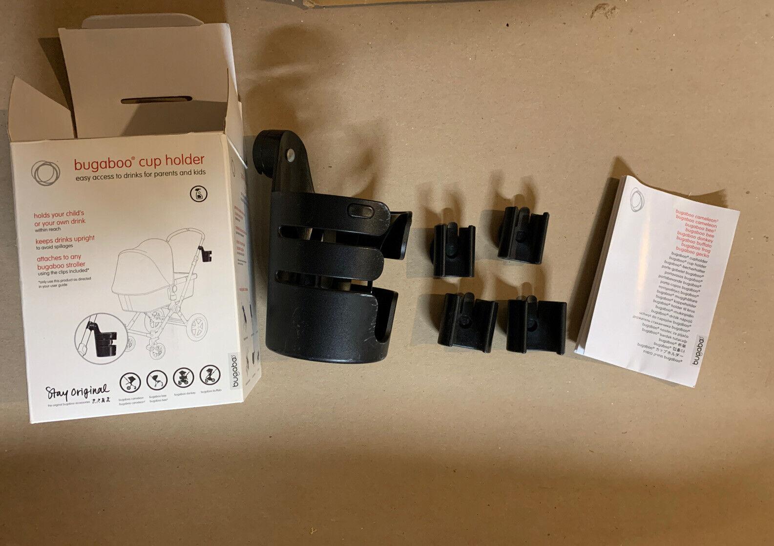 2 3 frog Cameleon stroller cup holder donkey bufallo organizer NEW Bugaboo 1