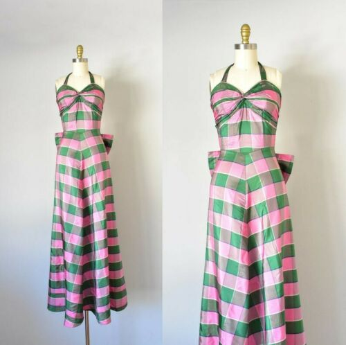 1930s dress Bias Cut Dress