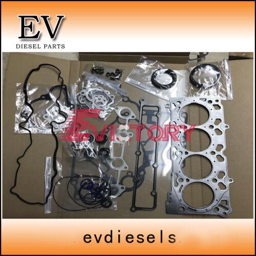 Metal type cylinder head gasket For Kubota V2607 V2607T full gasket kit