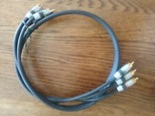 Monster Cable Video 3 (MV3CV) RCA Ultra-High Performance Component Gold 1m