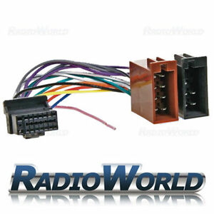Alpine-16-PIN-Car-Stereo-Radio-ISO-Wiring-Harness-Connector-Adaptor-Cable-Loom