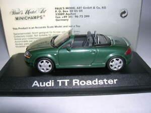 Minichamps-Audi-Tt-Roadster-con-Aleron-Verde-1-43-Art-20000000942003