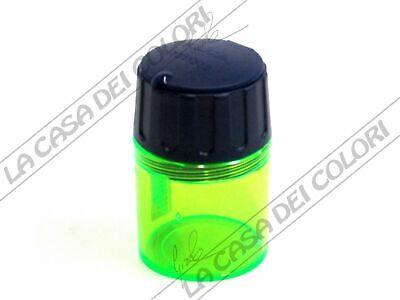 Volitivo Lyra - Temperamatite Con Contenitore - 2 Fori - Verde Avere Sia La Qualità Della Tenacia Che La Durezza