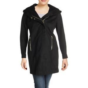 Karl-Lagerfeld-Paris-Womens-Winter-Wool-Blend-Midi-Coat-Outerwear-BHFO-6449