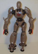 "2006 BAT Silver Cobra 8.5"" Sigma 6 Hasbro G.I. Joe Cobra Android Action Figure"