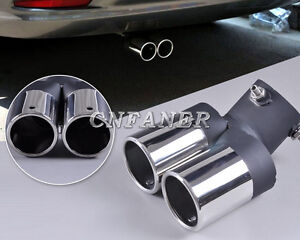 STAINLESS-STEEL-CHROME-EXHAUST-TAIL-MUFFLER-TIP-PIPE-FOR-Cruze-Fiesta-Focus