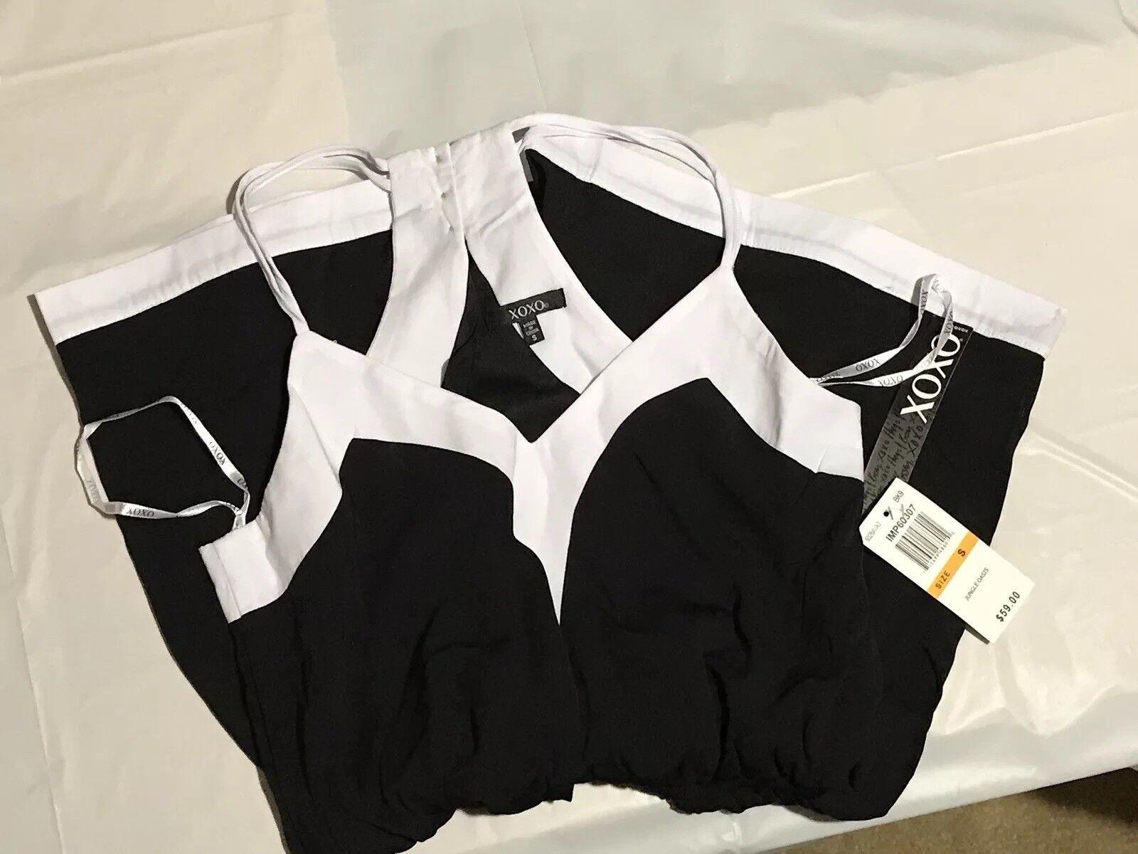 XOXO jumpsuit shorts size Small