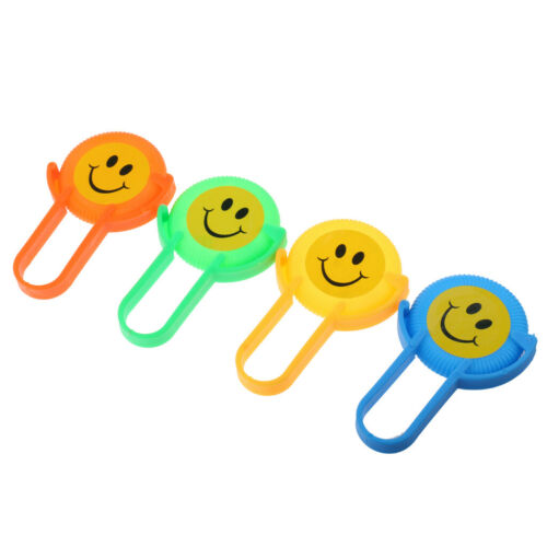 4 stücke Mini Lustiges Lächeln Gesicht Flying Disc Party Favor Spielzeug