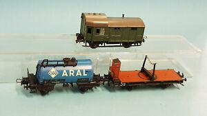 Trix-Express 3 Güterwagen