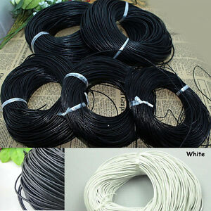3/10M New Charm Faux Leather Cord For Necklace Bracelet Jewelry Making 1.5/2.0mm
