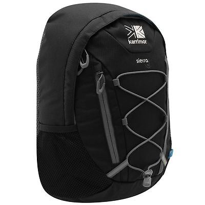 Karrimor Packable Rucksack Black//Charcoal Bag Backpack Carryall