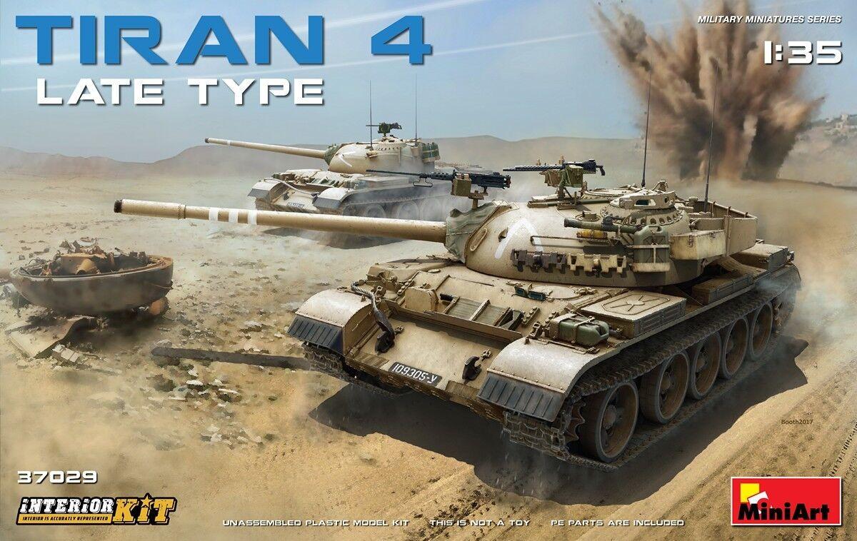 Miniart 1 35 Tiran 4 Late Type With Interior Medium Tank Model Kit