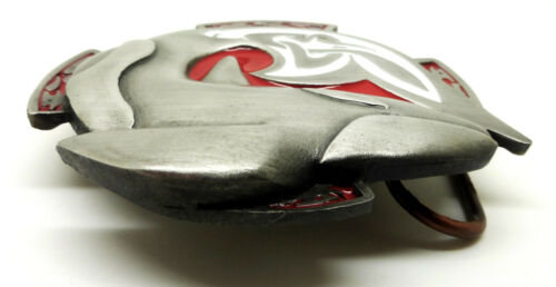 Celtic baleine boucle de ceinture poisson 3D vie marine authentique bulldog buckle co produit