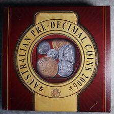Australia 2006 P  Dollar Proof Silver $1 1oz  with Miniature Pre Decimal Coins