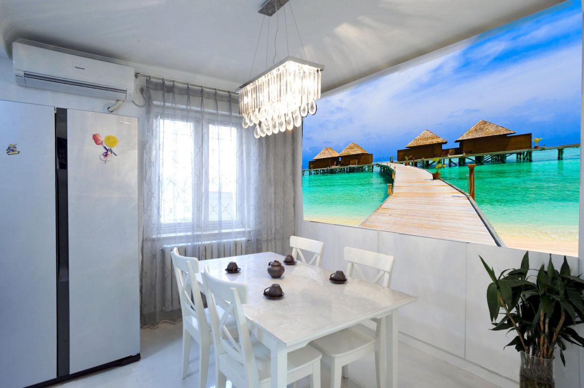 3D Malediven Landschaft 864 Tapete Wandgemälde Tapete Tapeten Bild Familie DE