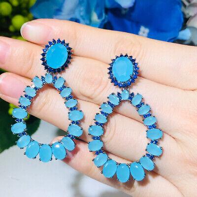 Mode Ohrstulpe Zirkon Flügelklemme Ohrringe befestigen für Frauen Party Geschenk