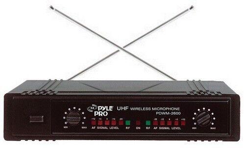 Pyle PDWM2700 PDWM2700 PDWM2700 pro Dual 2 Channel Vhf Sistema de Micrófono Inalámbrico 1 Mic&1  últimos estilos