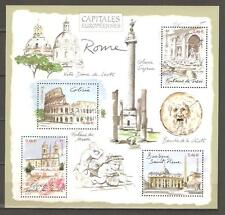 FRANCE 2002...Miniature Sheet n° 53 MNH...European Capitals ROME (ITALIA)