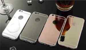 Coque-iPhone-Samsung-Miroir-Acrylique-Beaute-Bling-Case-Cover-Souple-ORIGINAL