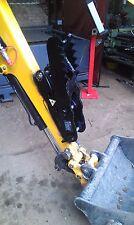 digger excavator  thumb grab, grapple, talon grip 1.5 - 2.2t 660mm fork, INC VAT