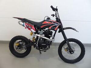 250ccm Dirt Bike Dirtbike Cross Pitbike 250cc RV-Racing Enduro E-Starter Schwarz