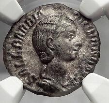 ORBIANA Severus Alexander Wife 226AD Rome Ancient Silver Roman Coin NGC i59837