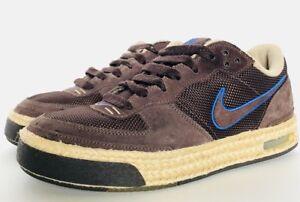 pas cher pour réduction dc605 f6018 Details about Nike Air Captivate RARE Colorway Brown Royal Khaki Espadrille  Size 8 314336-221