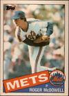 1985 Topps Roger Mcdowell #83T Baseball Card