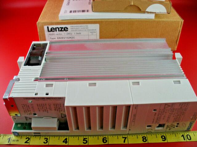 Lenze E82EV152K2C Frequency Inverter 8200 Vector Drive 1-240V 1.5kW 03175177 New
