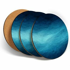 4-x-Coasters-Abstract-Watercolour-Sea-Blue-Teal-Water-44021