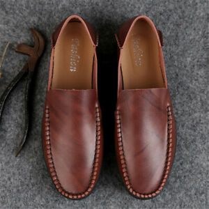 Men-s-Driving-Moccasins-Shoes-Leather-Loafers-Slip-Comfortable-Casual-Flats