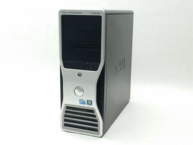 DELL PRECISION T3500 XEON W3505 2.53GHz 12GB 250GB QUADRO 2000 COMPUTER PC
