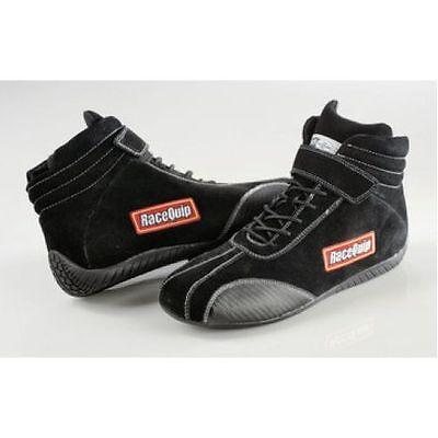 Racequip 30500050 SFI 3.3//5  Euro Carbon-L Racing Shoes 5.0 Size Black