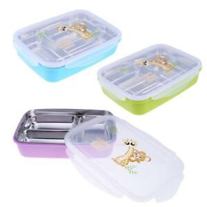 Stainless Steel Thermal Insulated Lunch Box Picnic Bento Food
