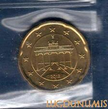 Allemagne 2012 20 centimes D Munich FDC provenant coffret 40000 exemplaires