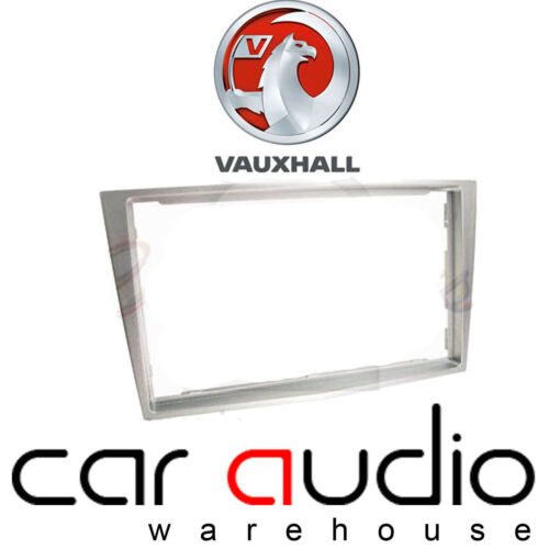 Autoleads Vauxhall Astra 2000-2004 Car Stereo Double Din Silver Fascia Panel