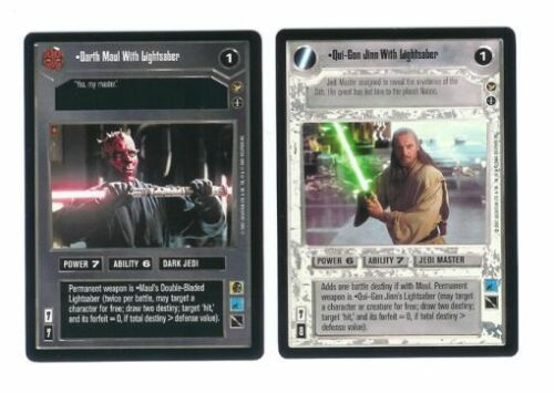 no AI Star Wars CCG Theed Palace 120 card Complete Set with checklists