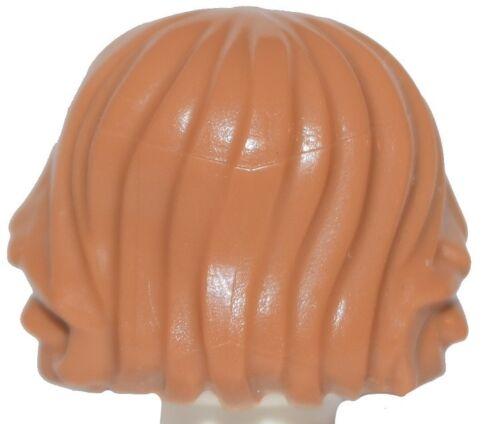 ☀️NEW Lego Minifig Hair Male Boy Medium Dark Flesh Surfer Tousled Messy